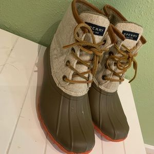 Sperry Duck Ankle Boots